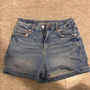 AE curvy mom shorts